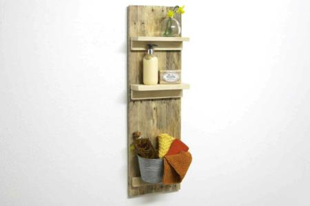 Badezimmer Regal Palettenholz