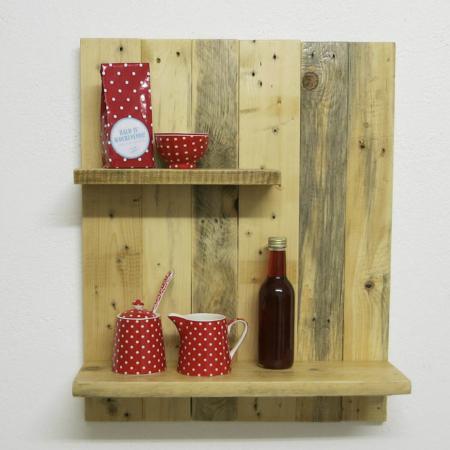 Altholz Küchenregal