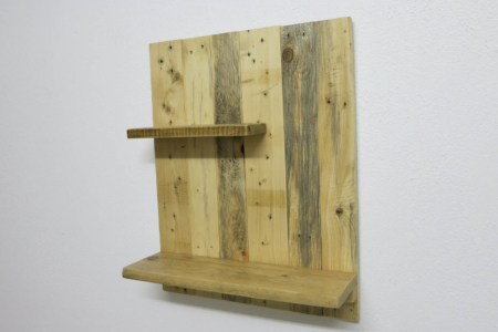 Küchenregal Altholz Seite