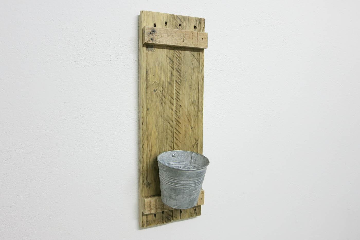 Kleine wandkonsole altholz kellerherz - Wandregal altholz ...