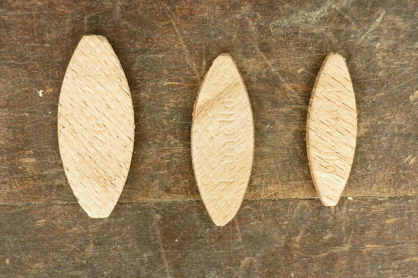 Lamellos Größen 0, 10 und 20