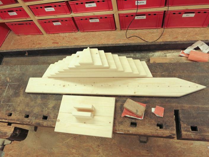 Adventskalender Holz Bausatz