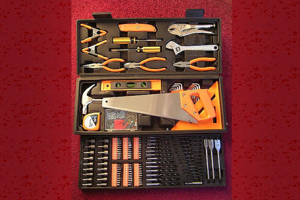 Vorräte, die du für Heimwerkerarbeiten benötigst