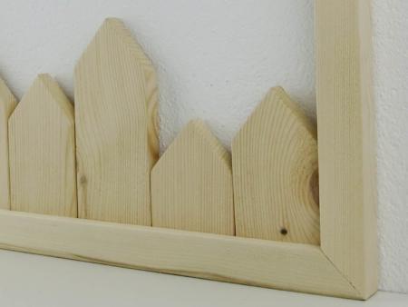 Detail von Deko Holzhäuser