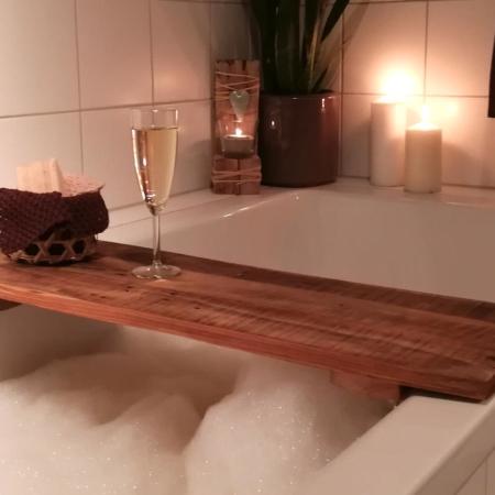 Badewannenablage Holz