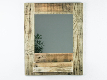 Spiegel Gäste WC Holz